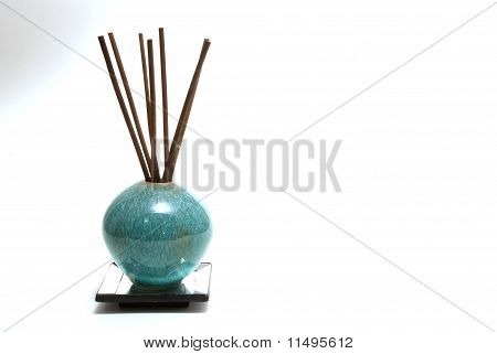 Aromatherapy Diffusion sticks in decorative bottle