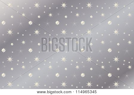 Background for Invitation silver metallic