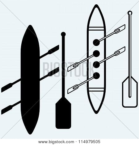 Rowers, boat sports