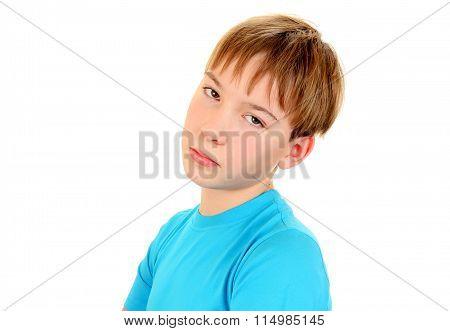 Sad Kid Portrait