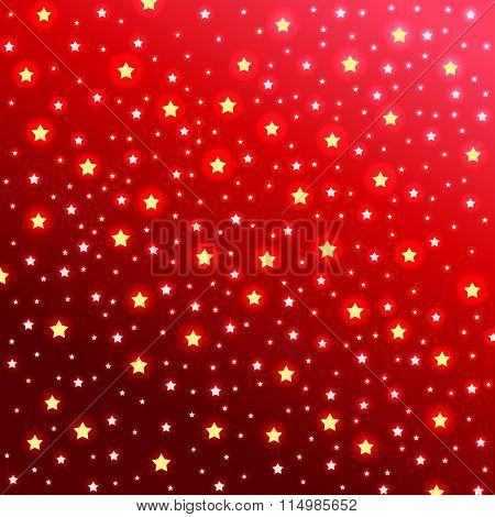Abstract starry background. Vector