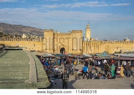 Bab Chorfa Gate. Fez El Bali Medina. Morocco.