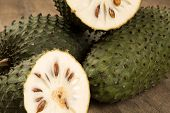 Sour sop Prickly Custard Apple. (Annona muricata L.) Treatment of cancer. poster