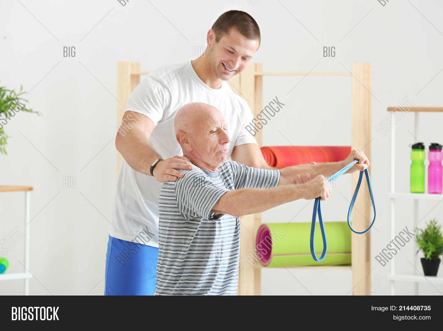Supervision of an elderly person 5