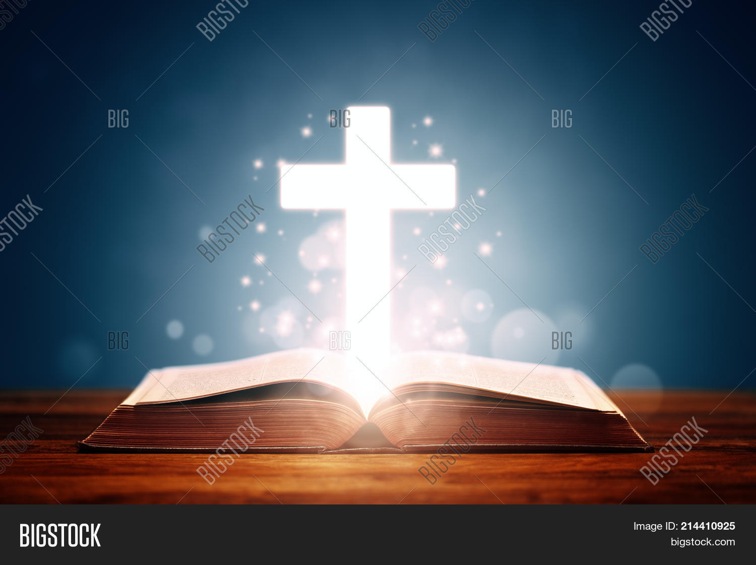 holy bible cross image photo free trial bigstock