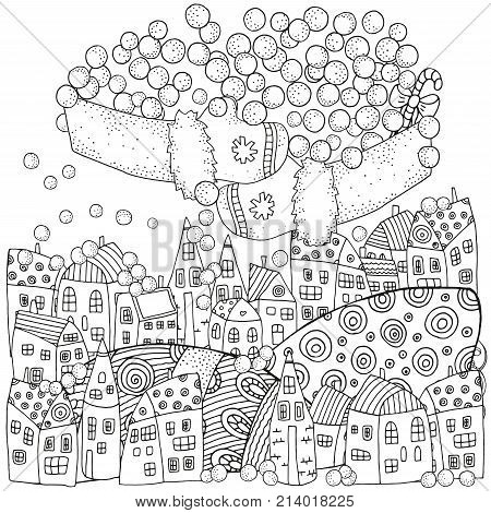 Winter Pattern Adult Vector Photo Free Trial Bigstock