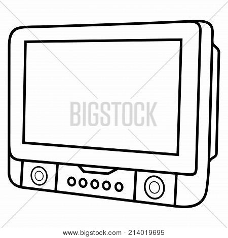 Portable DVD Auto Cat Player Media Film