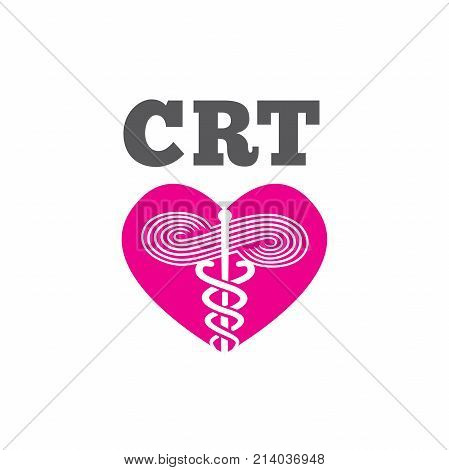 Respiratory Therapy Medical Symbol Icon - For Rrt, Rt Or Crt