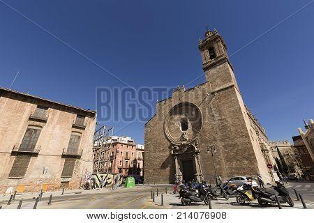 Royal Parish Of Santos Juanes In Valencia