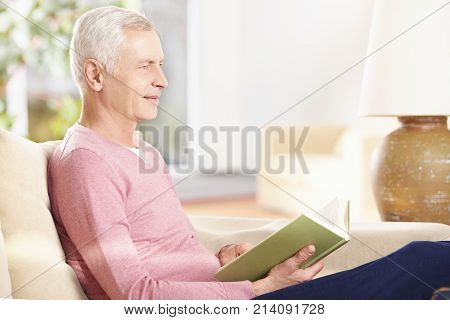 Reading An Interesting Book