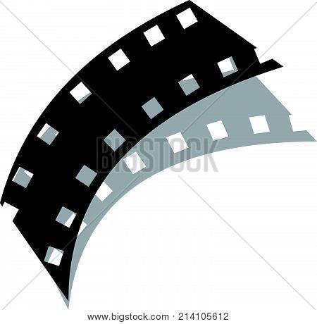 film strip logo design template vector photo bigstock rh bigstockphoto com film strip logo design film strip logo animation