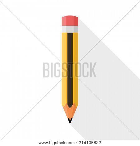 Pencil. Flat Design illustration