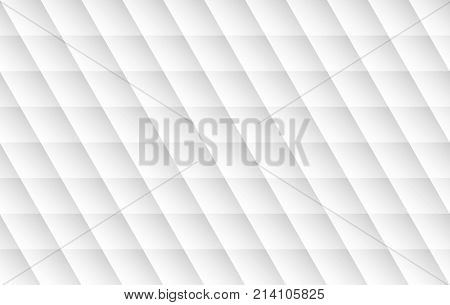 Modern white background. Seamless texture with shadow