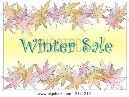 Pastle Leaves Winter