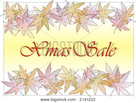 Pastle Leaves Xmas