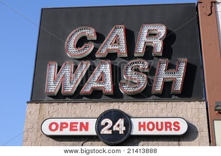 Car Wash open 24 hours
