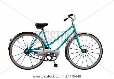 Vintage Fahrrad Abbildung