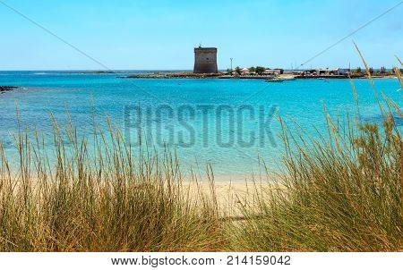 Torre Chianca Beach On Salento Sea Coast, Italy
