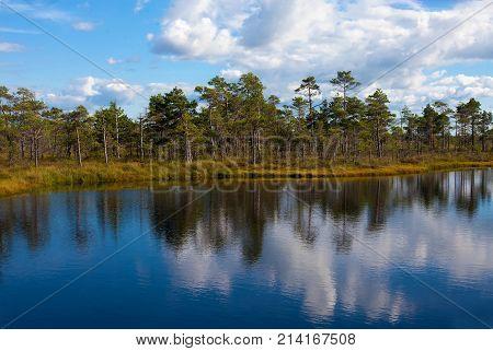 Amazing Lake Landscape In Nigula