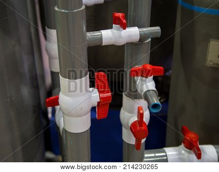Pvc Pipes Connect Image Photo Free Trial Stock