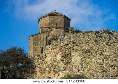 Famous Jvari Monastery
