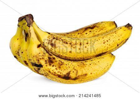 Yellow Over Ripe Bananas
