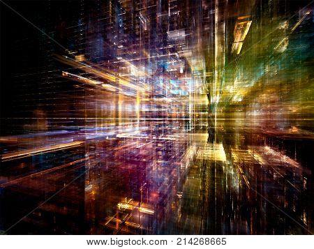 Spheres Of Digital World