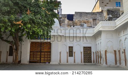 Old Building In Pushkar, India