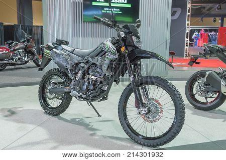 Kawasaki Klx250 Camo On Display