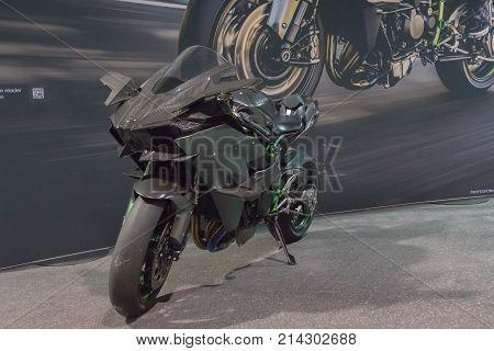 Kawasaki Ninja H2 On Display