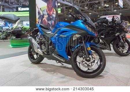 Kawasaki Ninja On Display