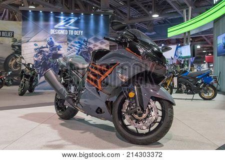 Kawasaki Ninja Zx-14R On Display