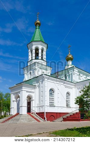 Church of Intercession of Holy Virgin on Nizhne-Pokrovskaya Street Polotsk Belarus