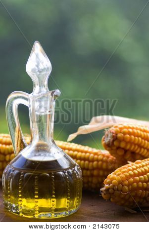 Olive Oil In Pitcher