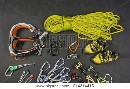 Traditional Climbing - Basic Equipment Of The Climber.