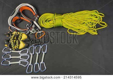 Rock Climbing - Equipment For Climbing.