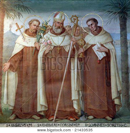 Saint Angelus, Andrew Corsini and Bl. John Soreth
