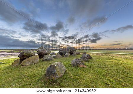 Hunnic Monolithic Dolmen