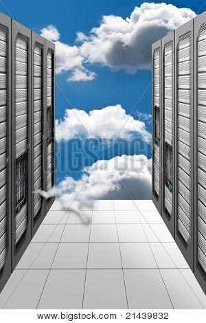 Cloud-Computing - Datacenter
