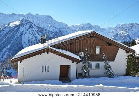 Braunwald town, Switzerland