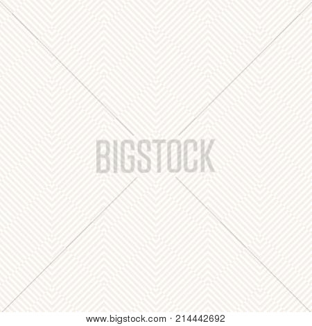 Geometric seamless pattern in the form of waves zigzags. Monochrome. Vector light texture. Abstract textured background.