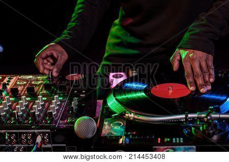 Sound Mixer And Vinyl