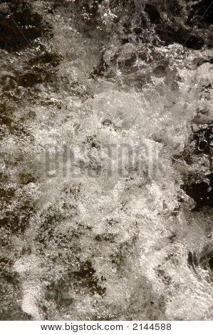 Abstract Whitewater Background