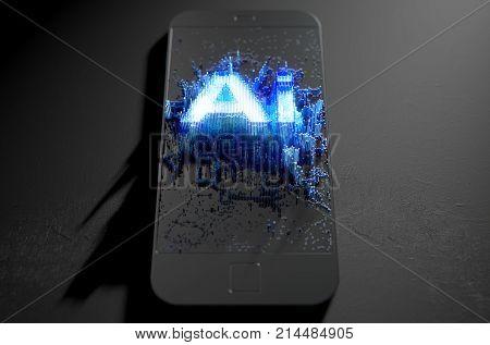 Artificial Intelligence Cloner Smartphone
