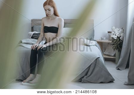 Teenage Girl With Underweight