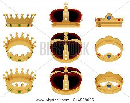 Reyes Magos Three Wise Men Royal Crowns