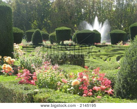 French Garden Of Le NôTre In Castres