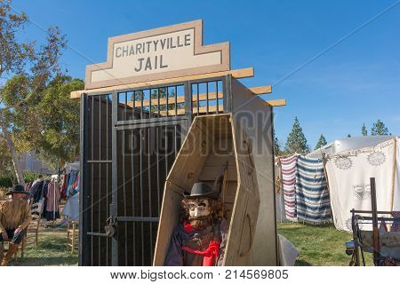 Replica Of Old West Jail