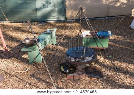Typical Camping During Tumbleweed Festival