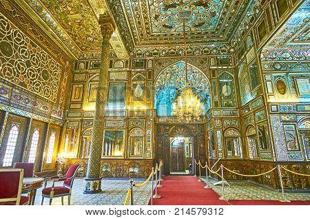 Restored Interiors Of Golestan, Tehran
